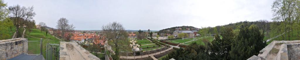 Blankenburg Sloss Garten 2