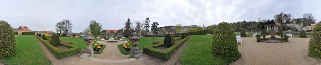 Blankenburg Sloss Garten