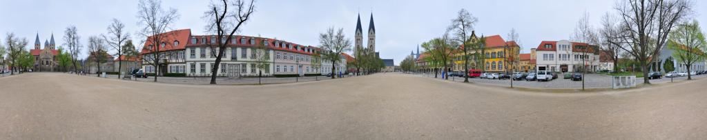Halberstadt Dom Platz