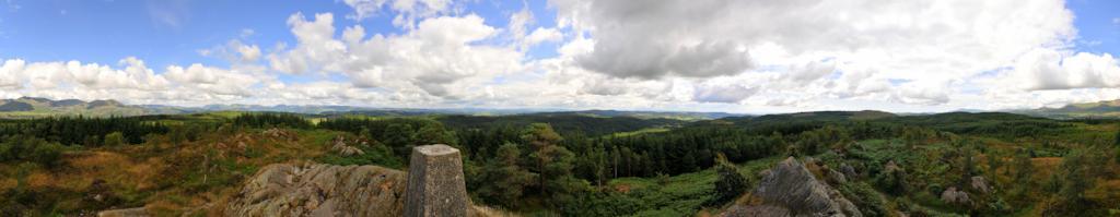 Carron Cragg, The Lake District, Cumbria, Engeland